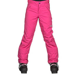 The North Face Freedom Insulated Girls Ski Pants, Petticoat Pink, 256