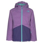 The North Face Brianna Insulated Girls Ski Jacket, Bellflower Purple, medium
