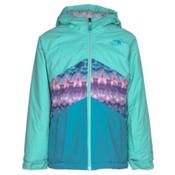 The North Face Brianna Insulated Girls Ski Jacket, Bermuda Green, medium