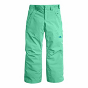 The North Face Powdance Girls Ski Pants, Bermuda Green, medium