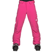 The North Face Powdance Girls Ski Pants, Petticoat Pink, medium