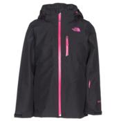 The North Face Fresh Tracks Triclimate Girls Ski Jacket, TNF Black, medium