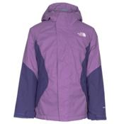 The North Face Kira Triclimate Girls Ski Jacket, Bellflower Purple, medium