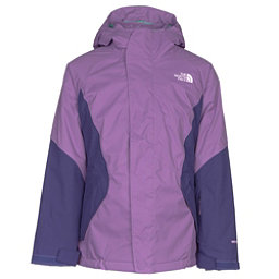 The North Face Kira Triclimate Girls Ski Jacket, Bellflower Purple, 256