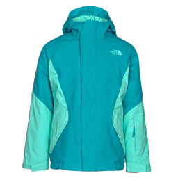 The North Face Kira Triclimate Girls Ski Jacket, Algiers Blue, 256