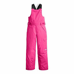The North Face Arctic Bib Girls Ski Pants, Petticoat Pink, 256