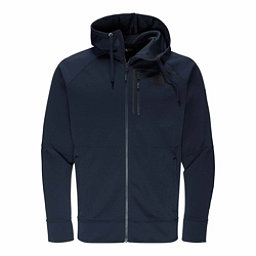 The North Face Mack Eaze Full Zip Mens Hoodie, Urban Navy-Black Reflective, 256