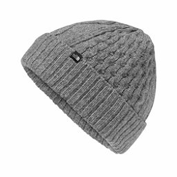 The North Face Lambswool Beanie, TNF Medium Grey Heather, 256