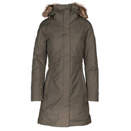 The North Face Arctic Parka II w/Faux Fur Womens Jacket, New Taupe Green, 256