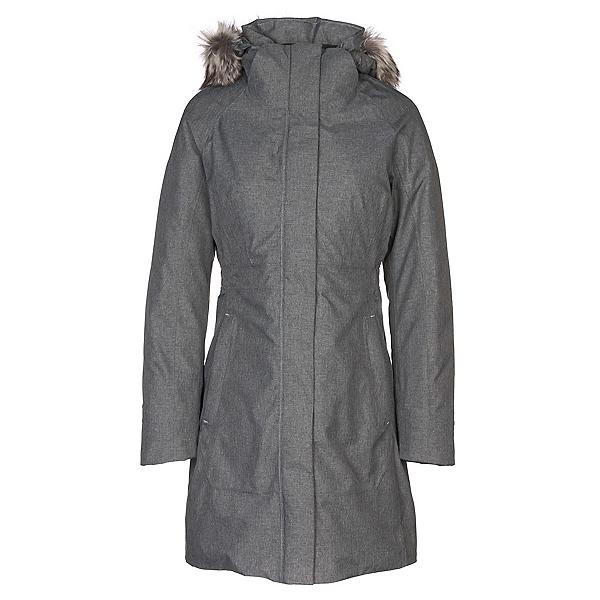 The North Face Arctic Parka II w/Faux Fur Womens Jacket, TNF Medium Grey Heather, 600