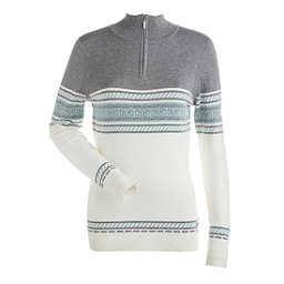 NILS Terri Womens Sweater, Winter Whit-Steel Grey-Caledon, 256
