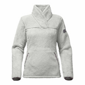 The North Face Campshire Womens Pullover, High Rise Grey-Black Plum, medium
