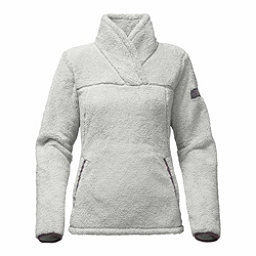 The North Face Campshire Womens Pullover, High Rise Grey-Black Plum, 256