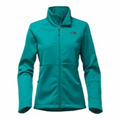 The North Face Apex Risor Womens Soft Shell Jacket, Harbor Blue, medium
