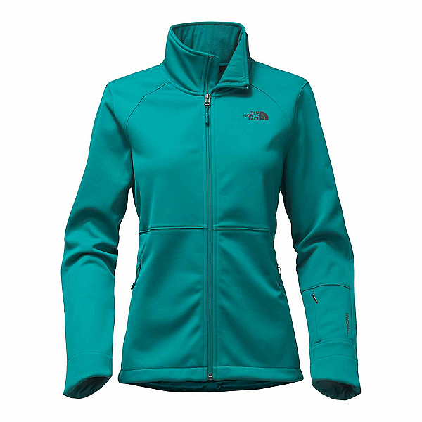 The North Face Apex Risor Womens Soft Shell Jacket, Harbor Blue, 600