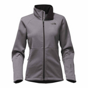 The North Face Apex Risor Womens Soft Shell Jacket, TNF Medium Grey Heather, medium