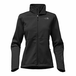 The North Face Apex Risor Womens Soft Shell Jacket, TNF Black, 256
