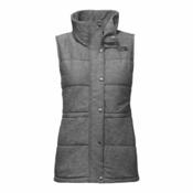 The North Face Pseudio Womens Vest, TNF Medium Grey Heather, medium