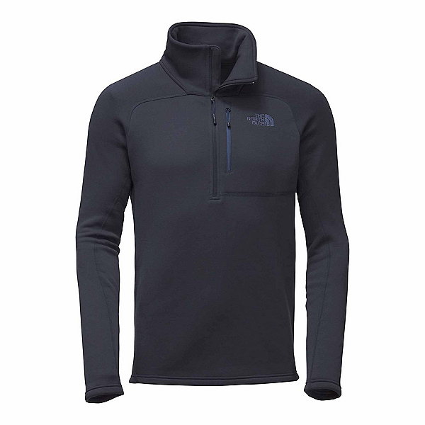 The North Face Flux 2 Power Stretch 1/4 Zip Mens Mid Layer, Urban Navy, 600