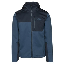 The North Face Apex Risor Hoodie Mens Soft Shell Jacket, Shady Blue-Urban Navy, 256