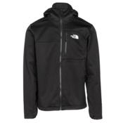 The North Face Apex Risor Hoodie Mens Soft Shell Jacket, TNF Black-TNF Black, medium