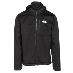 The North Face Apex Risor Hoodie Mens Soft Shell Jacket, TNF Black-TNF Black, 256