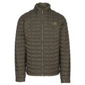 The North Face ThermoBall Mens Jacket, New Taupe Green Matte, medium