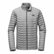 The North Face ThermoBall-Tall Mens Jacket, Monument Grey Matte, medium