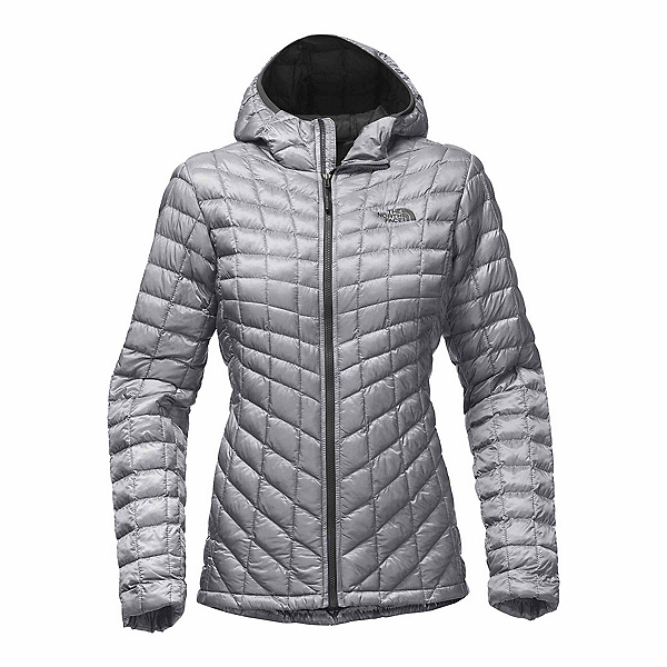 The North Face ThermoBall Hoodie Womens Jacket, Mid Grey, 600