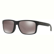 Oakley Holbrook PRIZM Polarized Sunglasses, Matte Black-Prizm Black Polarized, medium