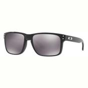 Oakley Holbrook PRIZM Polarized Sunglasses, Polished Black-Prizm Black, medium
