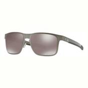 Oakley Holbrook Metal PRIZM Polarized Sunglasses, Gunmetal-Prizm Black Polarized, medium