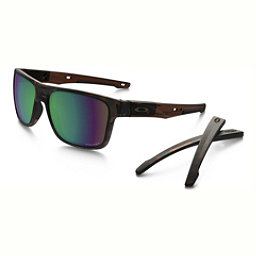 Oakley Crossrange PRIZM Polarized Sunglasses, Tortoise-Prizm Shallow Water Polarized, 256