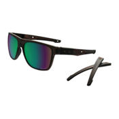 Oakley Crossrange XL PRIZM Polarized Sunglasses, Matte Tortoise-Prizm Shallow Water Polarized, medium