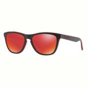Oakley Frogskins Sunglasses, Eclipse Red-Torch Iridium, medium