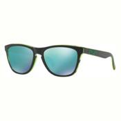 Oakley Frogskins Sunglasses, Eclipse Green-Jade Iridium, medium
