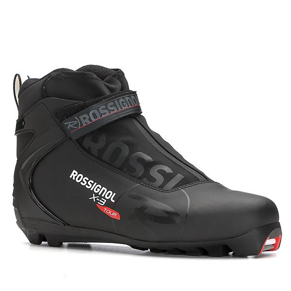 Rossignol X-3 NNN Cross Country Ski Boots 2018, Black, 600