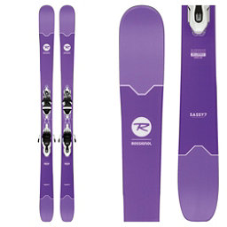 Rossignol Sassy 7 Womens Skis with Xpress 11 Bindings 2018, , 256