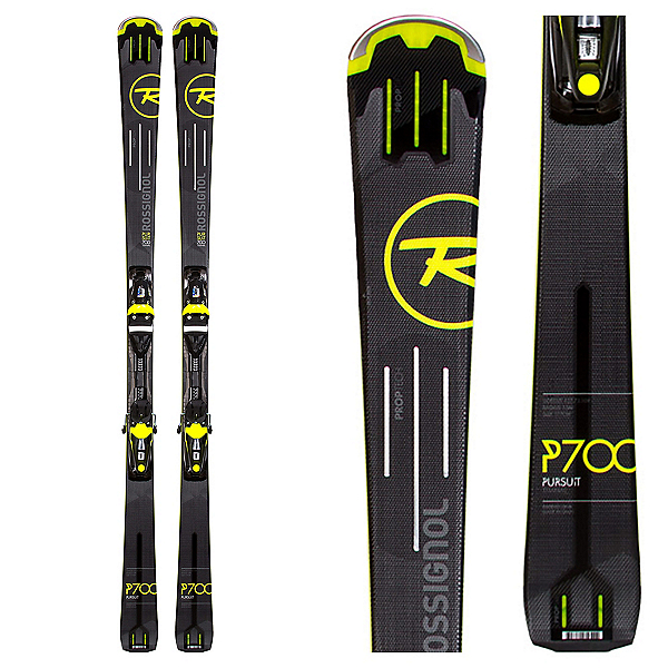 Rossignol Pursuit 700 Ti Skis with NX 12 Fluid Bindings, , 600