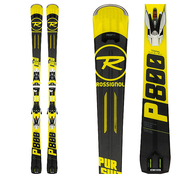 Rossignol Pursuit 800 TI CAM Skis with SPX 12 Konect Bindings 2018, , 600