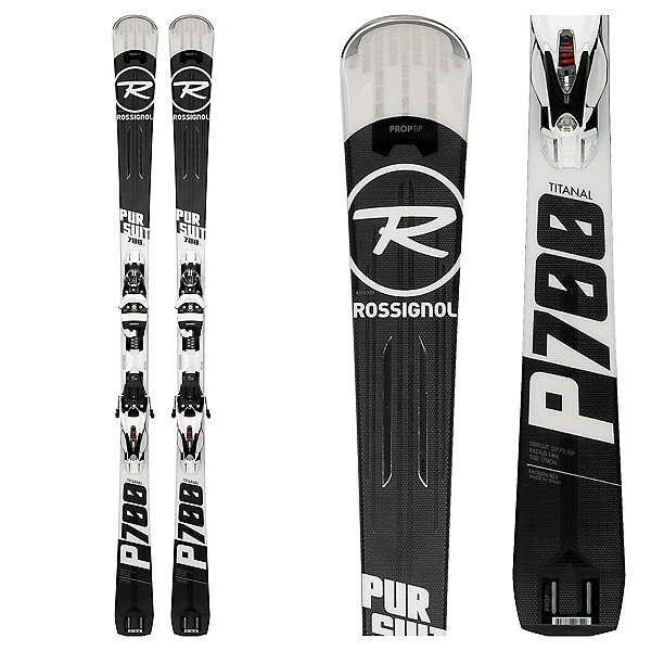Rossignol Pursuit 700 Ti Skis with SPX 12 Konect Bindings 2018, , 600