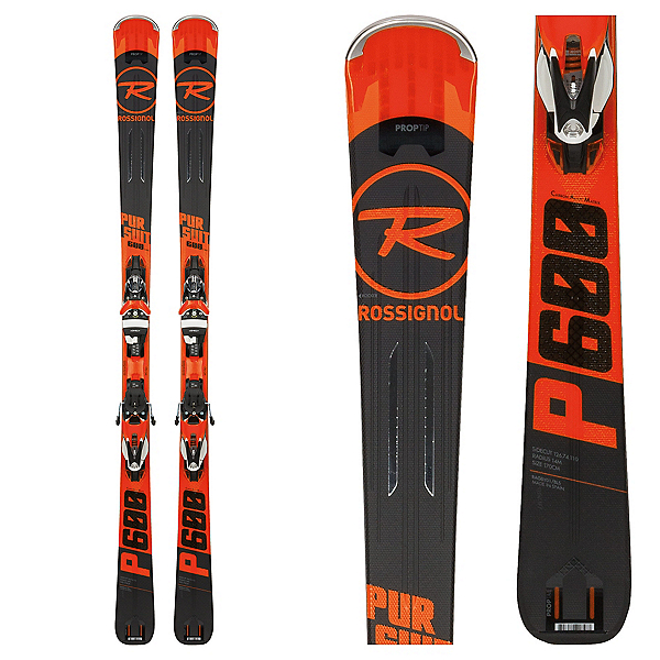 Rossignol Pursuit 600 CAM Skis with SPX 12 Konect Bindings 2018, , 600