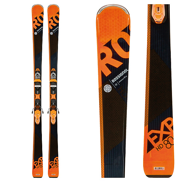 Rossignol Experience 80 HD Skis with Xpress 11 Bindings 2018, , 600