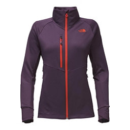 The North Face Powder Guide Womens Mid Layer, Dark Eggplant Purple, 256