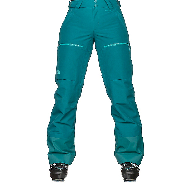 The North Face Powder Guide Womens Ski Pants, Harbor Blue, 600