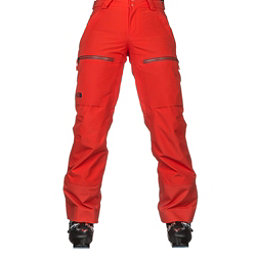 The North Face Powder Guide Womens Ski Pants, Fire Brick Red, 256