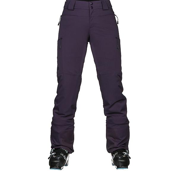 The North Face Powdance Womens Ski Pants, Dark Eggplant Purple, 600