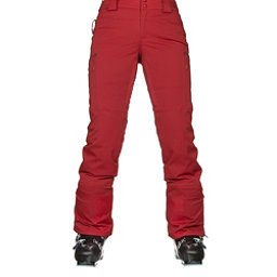 The North Face Powdance Womens Ski Pants, Ketchup Red, 256