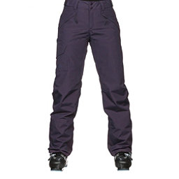 The North Face Freedom Insulated Womens Ski Pants, Dark Eggplant Purple, 256