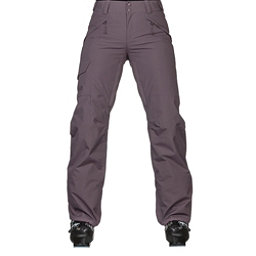 The North Face Freedom Insulated Womens Ski Pants, Black Plum, 256